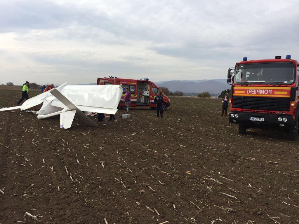 Ce au descoperit anchetatorii despre avionul omului de afaceri Zaharia Groza, care a murit după ce a aterizat forţat pe un câmp: Posibil nici zborul să nu fi fost autorizat