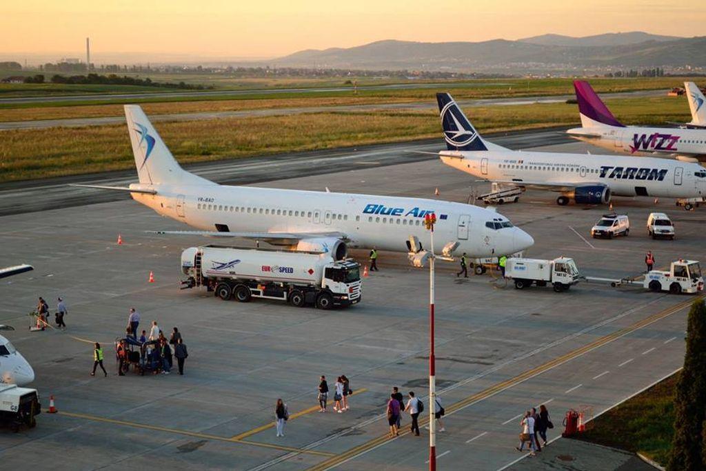 INCIDENT AVIATIC: O aeronavă care a decolat de pe Aeroportul Iaşi s-a întors la sol după ce pilotul a sesizat probleme