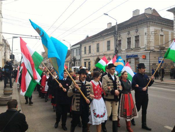Declararea zilei de 15 martie ca sărbătoare a comunităţii maghiare din România, respinsă