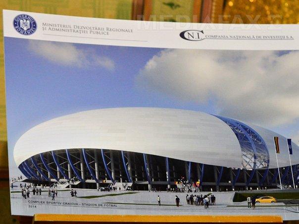 Noul stadion din Craiova, preluat oficial de Primărie; există şi o direcţie care administrează arena