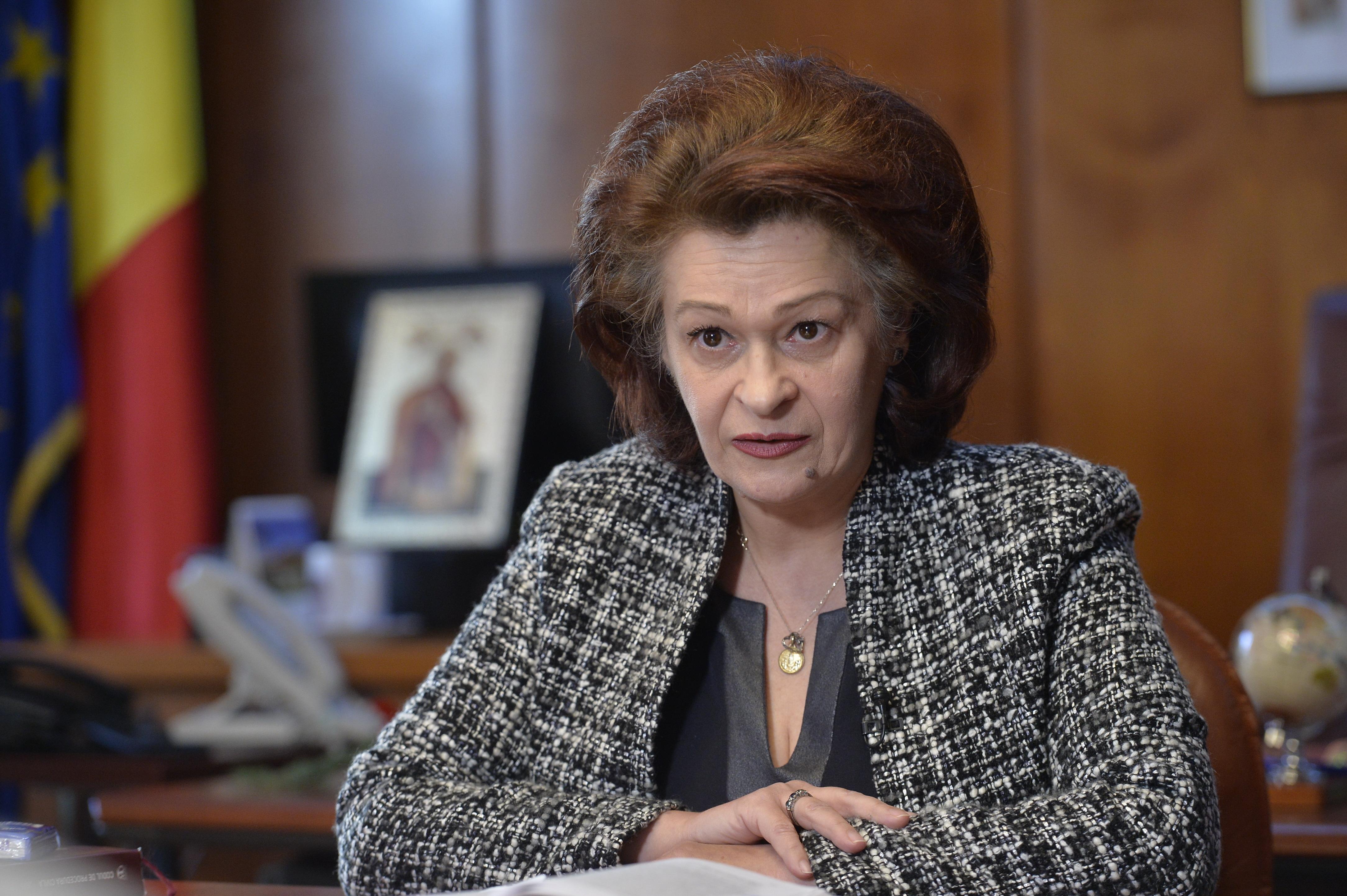 Cristina Tarcea, preşedinte ICCJ: Oficialilor de la Bruxelles li s-a prezentat alt proiect al Legilor justiţiei. Suntem minţiţi?