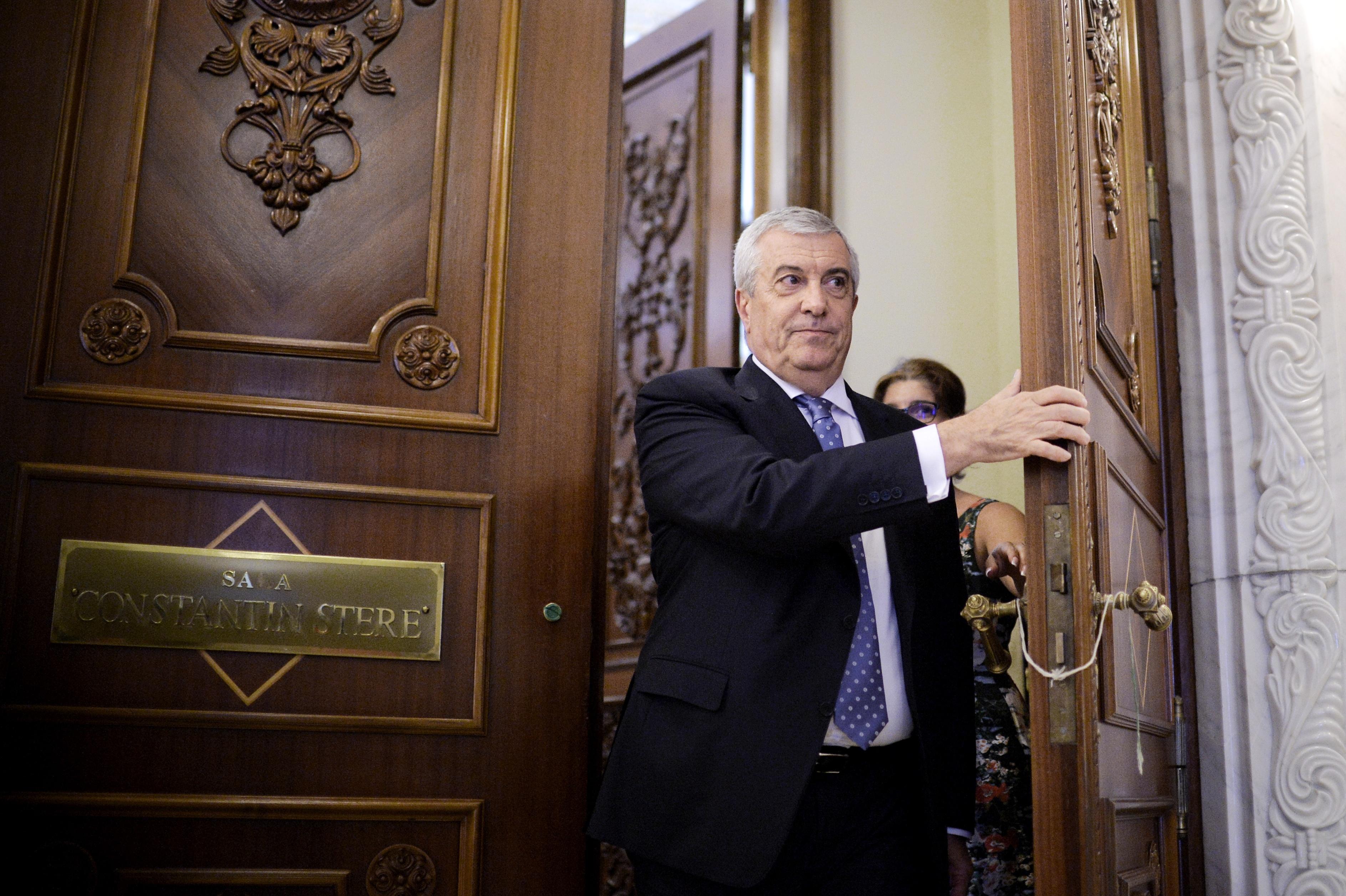 Preşedintele Senatului, Călin Popescu-Tăriceanu, convorbiri cu ministrul Justiţiei, Tudorel Toader