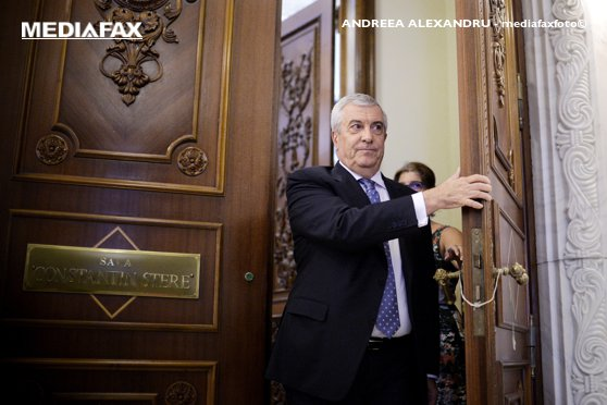 Imaginea articolului Preşedintele Senatului, Călin Popescu-Tăriceanu, convorbiri cu ministrul Justiţiei, Tudorel Toader