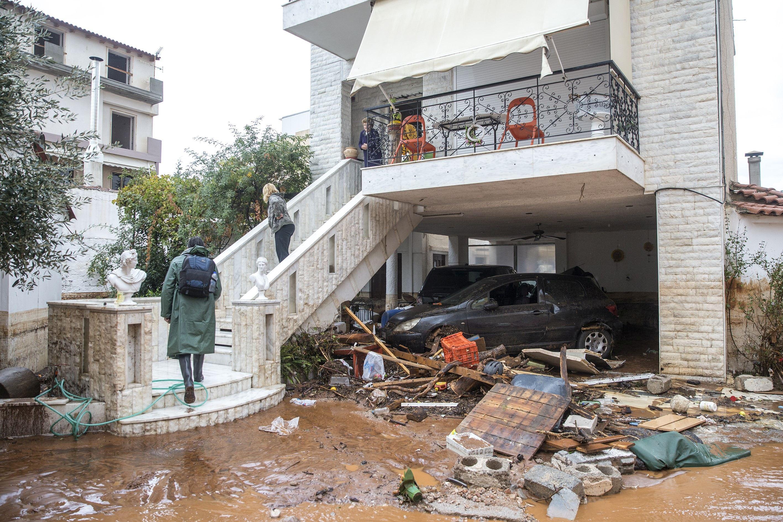 Alertă de călătorie în Grecia, din cauza inundaţiilor, emisă de MAE / Zonele afectate de fenomenul Euridice