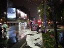 Imaginea articolului INCENDIU pe Bulevardul Magheru din Bucureşti: Un autoturism a luat foc. Circulaţia este îngreunată | FOTO, VIDEO