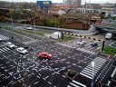 Imaginea articolului Marcajele rutiere de la o intersecţie din Timişoara, devenită celebră în întreaga lume, ar putea dispărea | FOTO