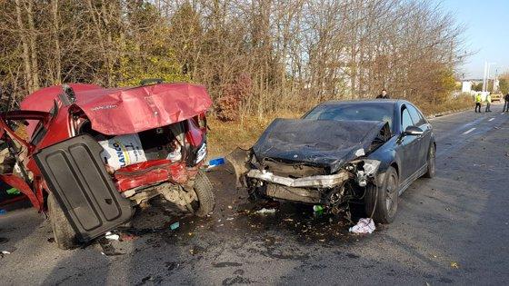 Imaginea articolului Trei victime, într-un accident la intrarea pe Autostrada A4, în judeţul Constanţa. Traficul, blocat