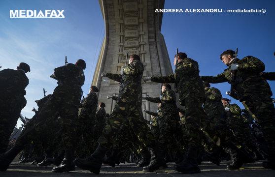 Imaginea articolului MApN: 3.500 de militari, cu 350 de mijloace tehnice, participă la parada militară de 1 Decembrie