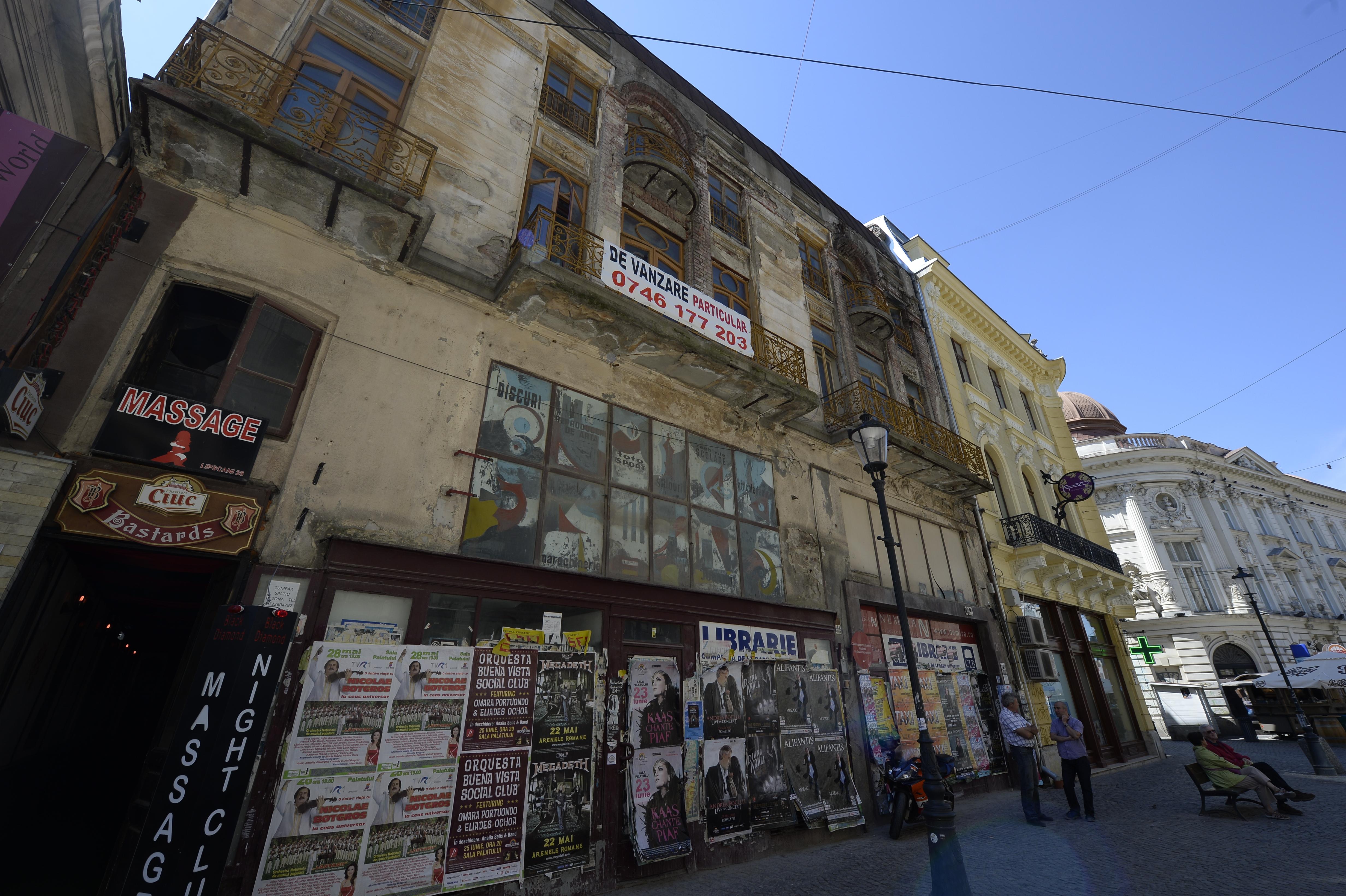 Altă imagine a Bucureştiului. Primăria Capitalei va acoperi cheltuielile pentru repararea faţadelor. Proprietarii vor înapoia banii în 10 ani. Primele zone care vor intra în proiect