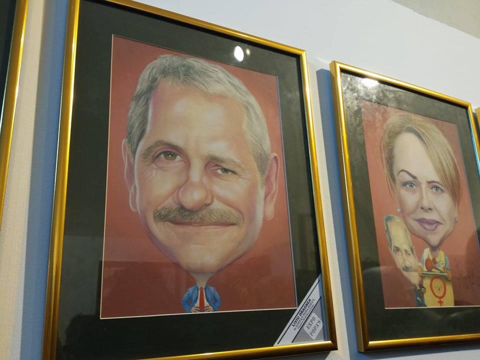 Muzeul `Ştefan Popa Popa's`, deschis pentru iubitorii de artă. Caricaturi gratuite timp de trei zile - FOTO