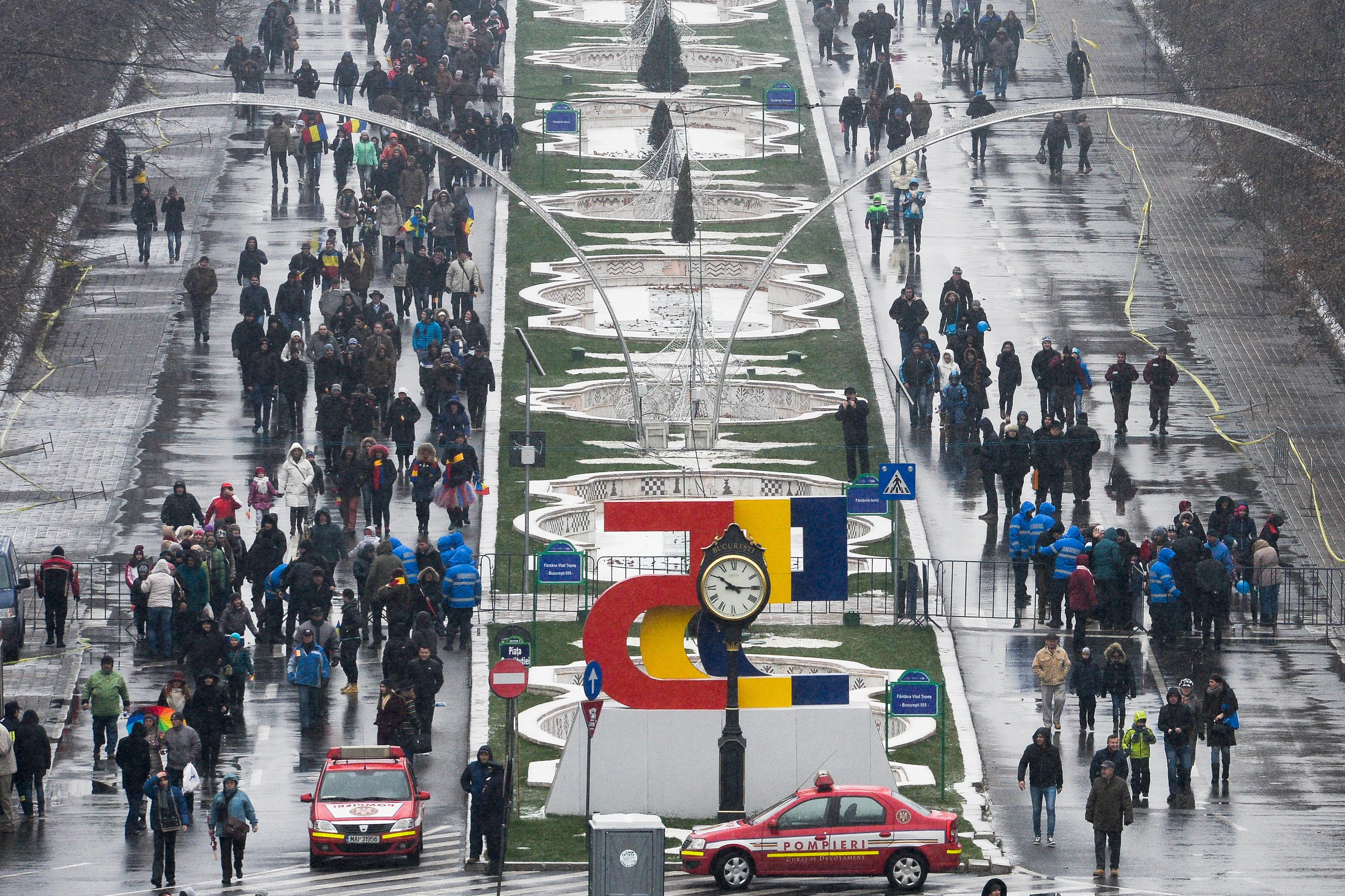 Restricţii de trafic în Bucureşti. Începe antrenamentul general pentru PARADA militară de Ziua naţională - HARTA