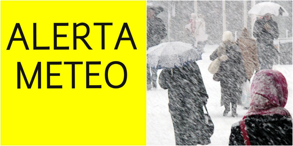 ANM: Atenţionare cod galben de ninsori/ Cum va fi vremea în minivacanţa de 1 Decembrie