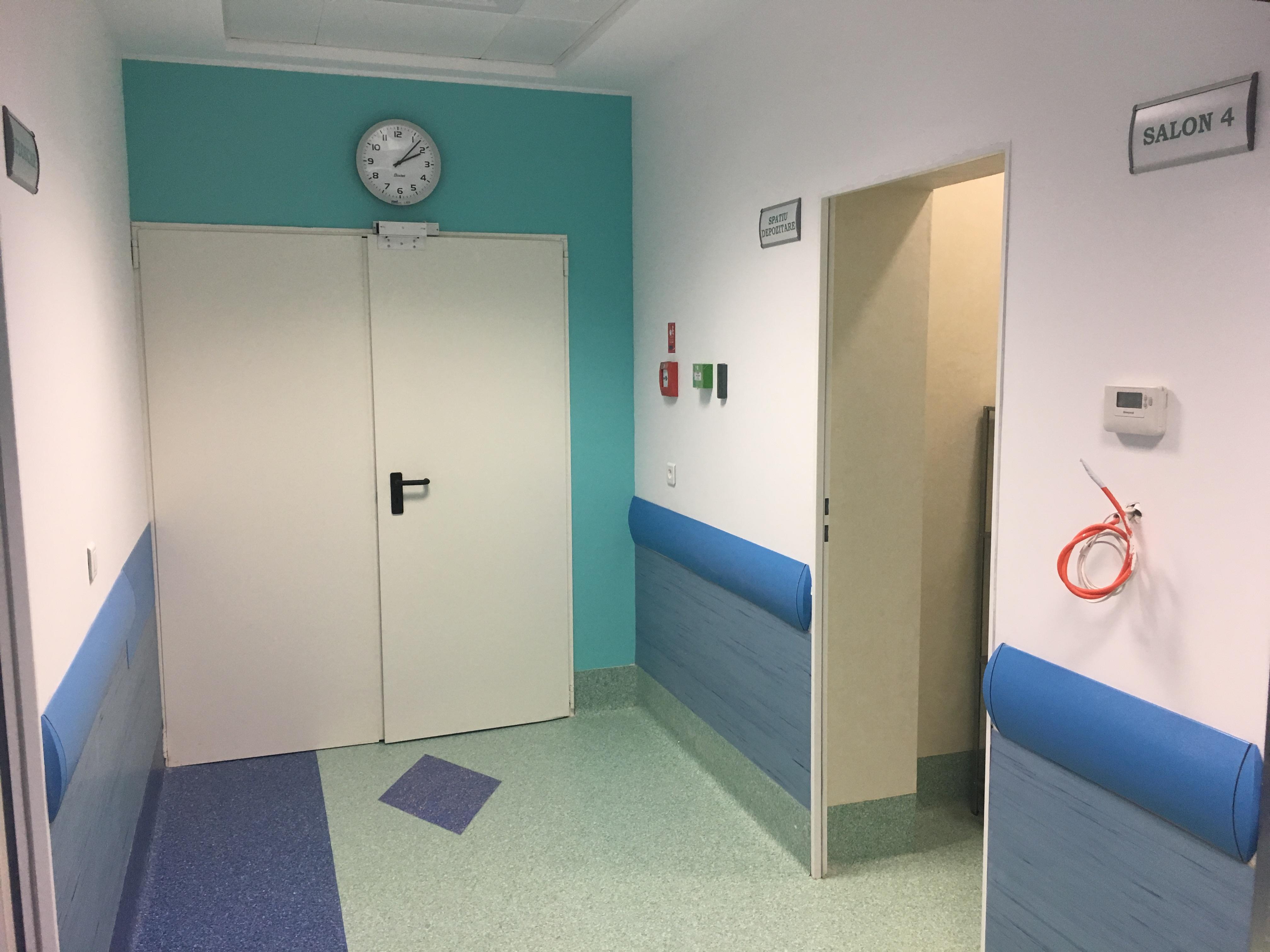 DSP: În urma controlului la Spitalul de Arşi, nu au fost depistate bacterii. Şeful ATI, amendat