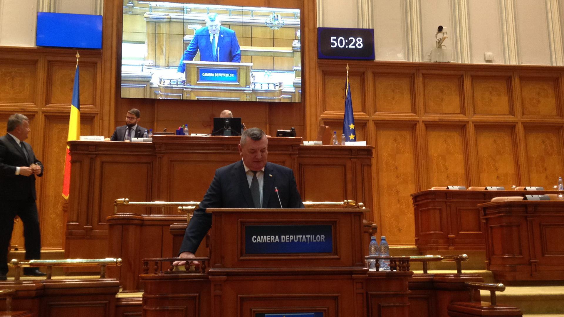 Şeful Jandarmeriei spune că incidentul în care a fost implicat Terea a fost provocat de protestatari
