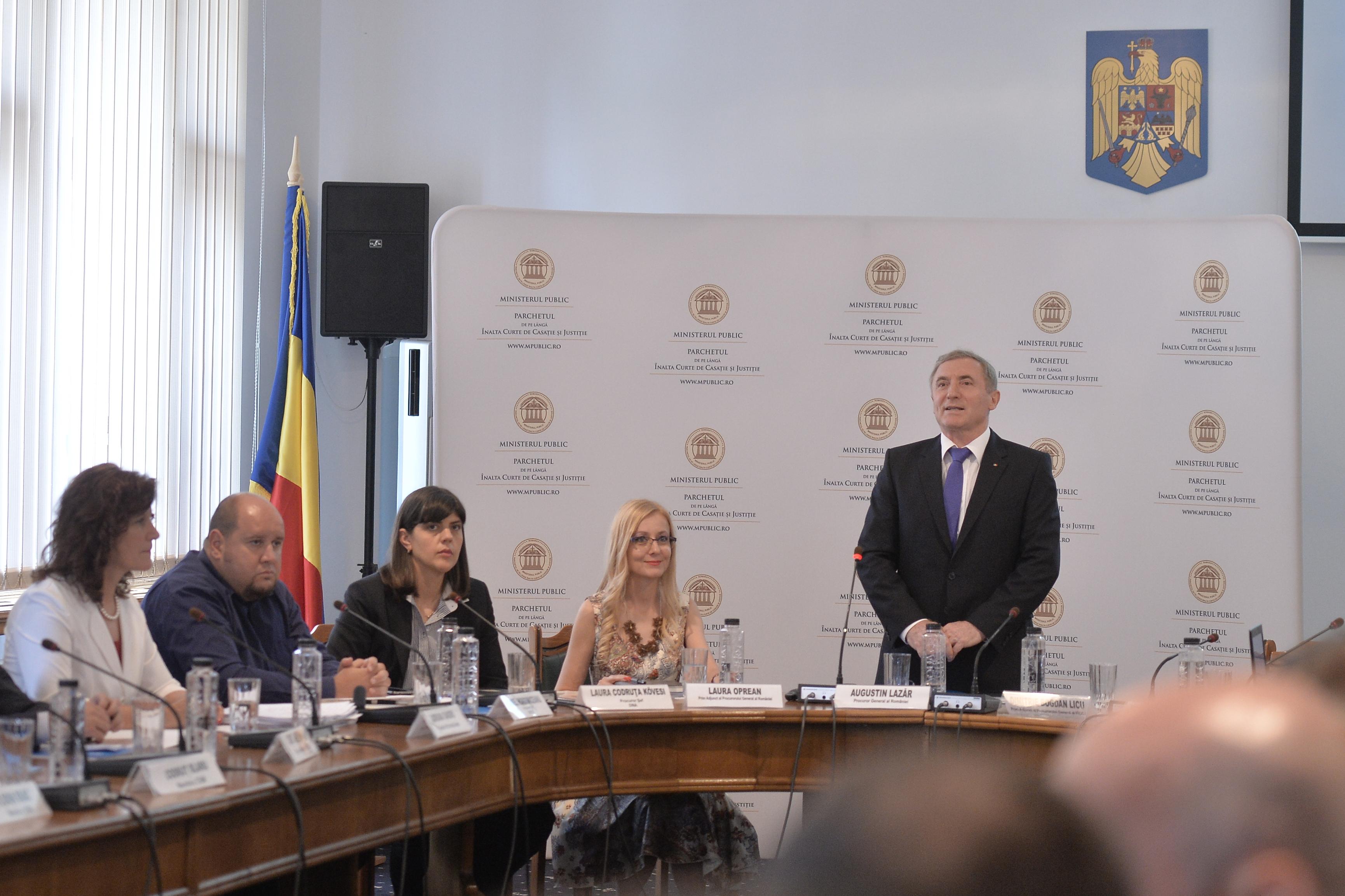 Procurorul general Augustin Lazăr, ATAC dur la adresa celor care îi cheamă pe procurori la audieri: Nişte inculpaţi de rang înalt vor ca discuţiile să aibă loc în alt mediu în afară de cel judiciar