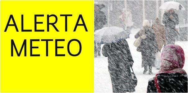 Imaginea articolului ALERTA METEO de vreme rea a fost prelungită. Vânt puternic şi ninsori viscolite, până luni/ Avertizare cod galben de vânt în cinci judeţe - LIVE UPDATE