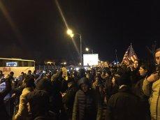 Imaginea articolului Protest în faţa Parlamentului faţă de modificările aduse legilor justiţiei, FOTO, VIDEO