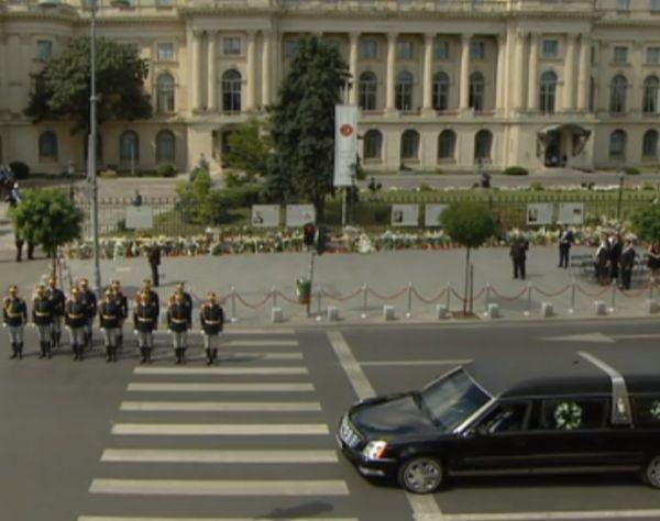 Imaginea articolului FUNERALIILE Regelui Mihai. Restricţii de trafic în Capitală, începând de miercuri