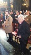 Imaginea articolului Filosoful Mihai Şora a intrat primul în Sala Tronului ca să-i aducă un omagiu Regelui Mihai