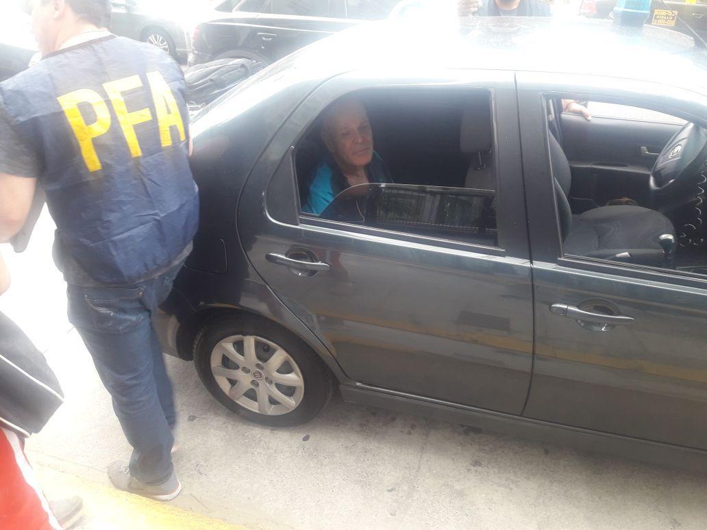 Omul de afaceri Avraham Morgenstern, condamnat la 8 ani de închisoare pentru evaziune fiscală, reţinut în Buenos Aires   FOTO
