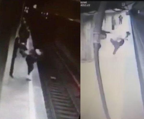 Imaginea articolului CRIMA de la metrou | Filmul celor două atacuri şi ce s-a întâmplat după prima tentativă. Mesajul ŞOCANT scris în palma atacatoarei când a fost găsită/ RĂSPUNSUL Primăriei Capitalei privind scuturile de siguranţă la metrou