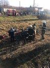 Imaginea articolului O persoană a murit, iar alte două au fost rănite după ce maşina în care se aflau a fost lovită de trenul Iaşi - Galaţi