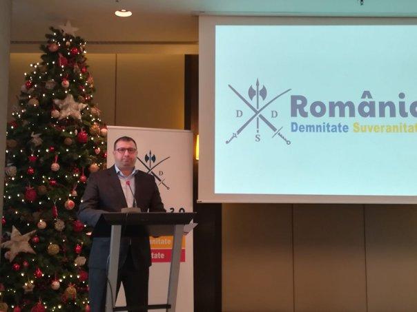 Imaginea articolului Fostul ofiţer SRI Daniel Dragomir a lansat o platformă civică prin care vrea recâştigarea demnităţii naţionale