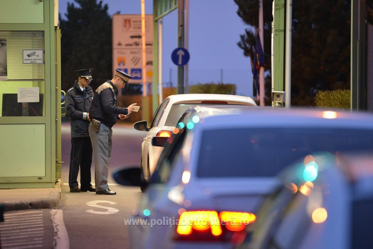 Peste 2,1 milioane de persoane au trecut frontiera română în perioada sărbătorilor