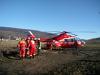 Imaginea articolului Nouă persoane au fost rănite după impactul între trei maşini, în Mureş. A fost solicitat elicopterul SMURD