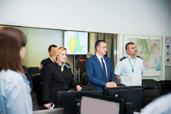Imaginea articolului Premierul interimar a participat la şedinţa MAI despre măsurile luate ca urmare a avertizărilor meteo