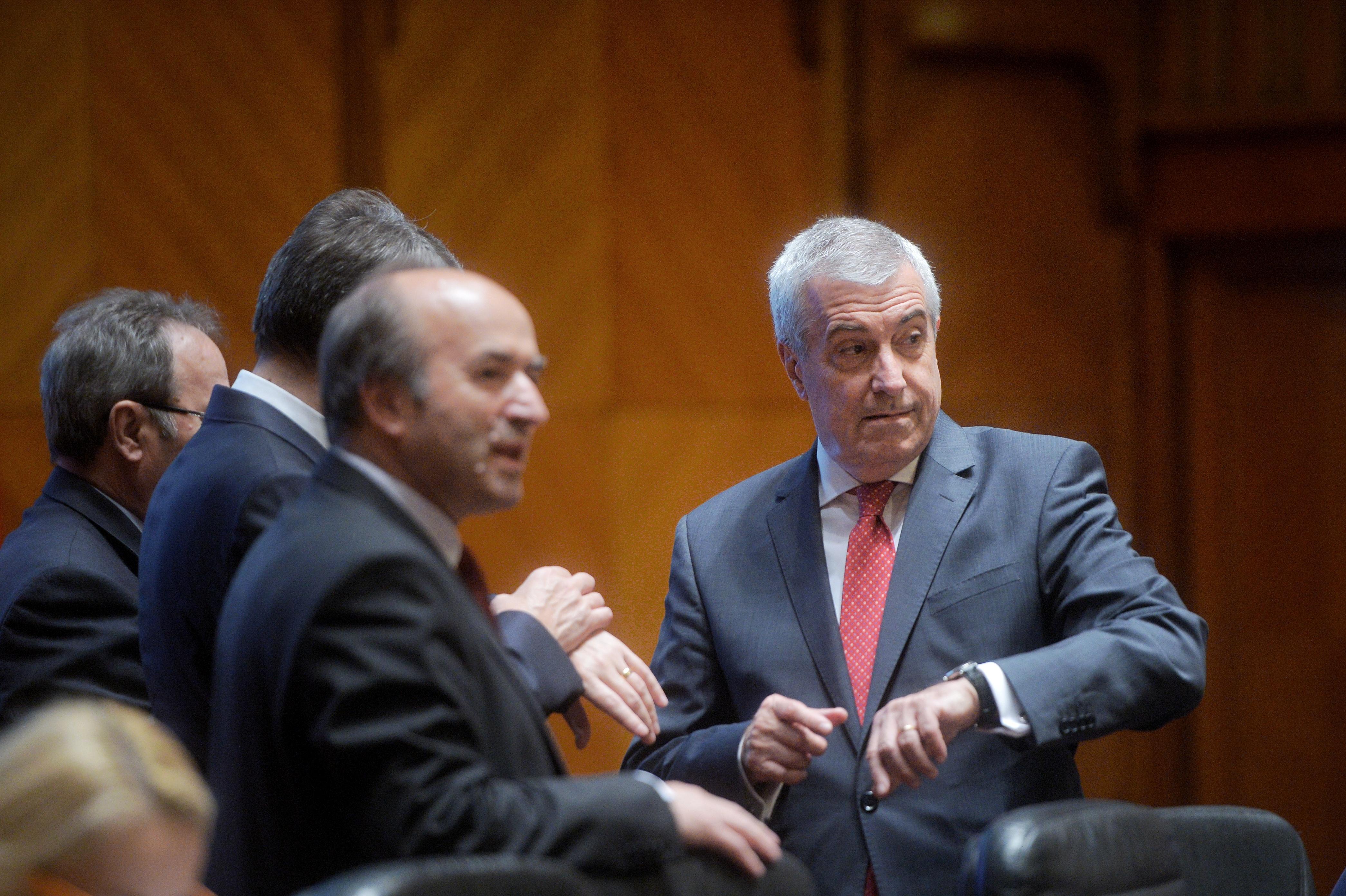 Călin Popescu Tăriceanu: Tudorel Toader nu m-a informat despre raportul privind activitatea DNA/ Ce spune preşedintele Senatului despre revocarea şefei DNA: Decizia nu e la Parlament