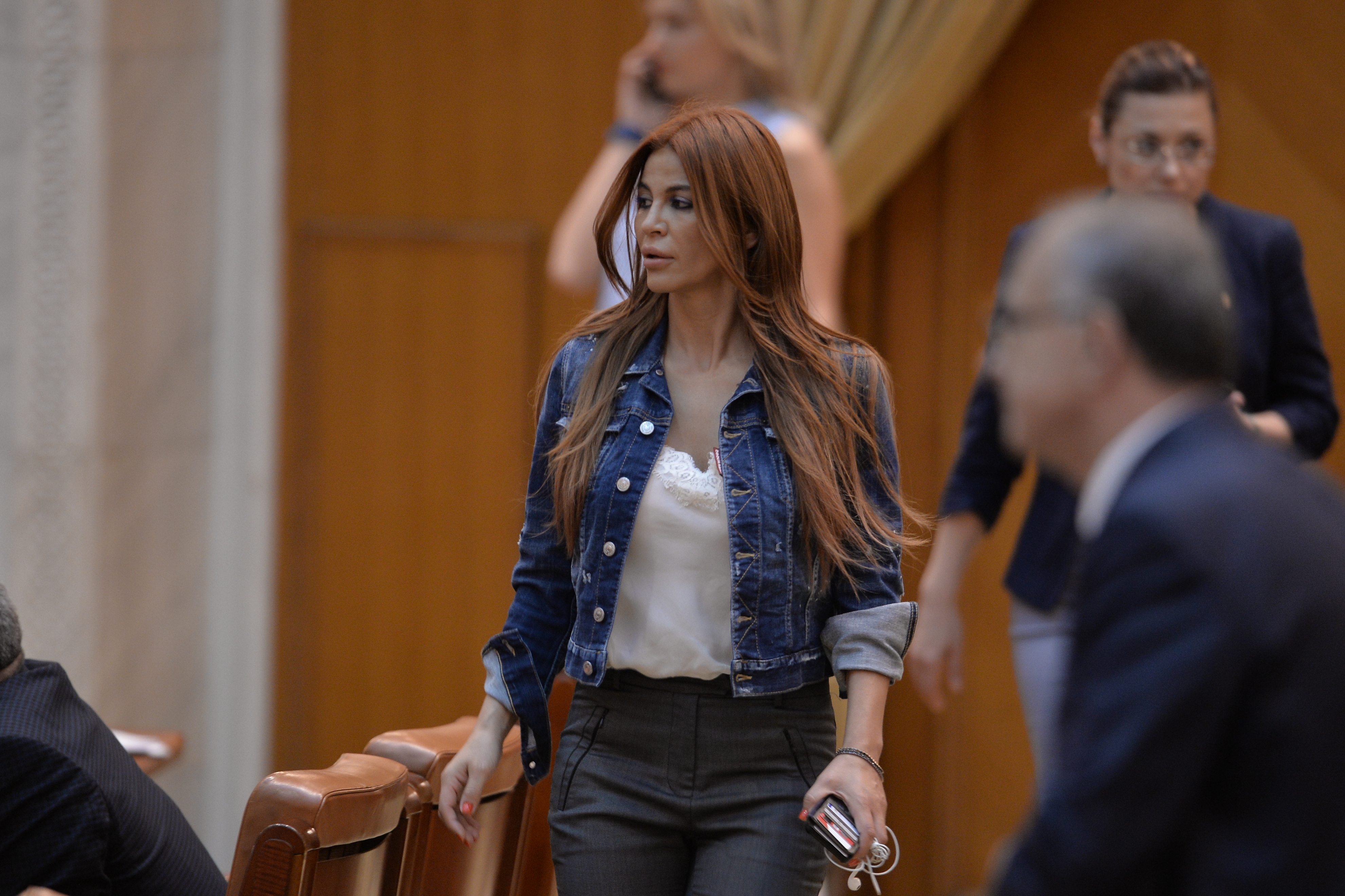 Andreea Cosma, în audienţă la ministrul de Interne, Carmen Dan: În calitate de demnitar al statului român, am cerut ajutor