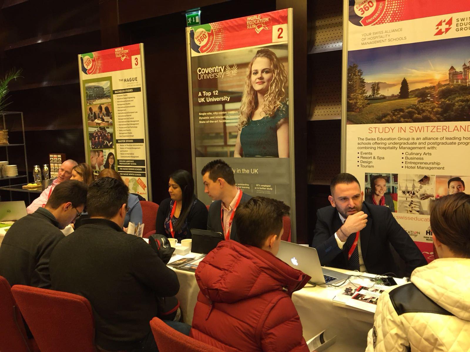 World Education Fair, târgul pentru elevii care vor să devină studenţi în afara ţării. Ţara cu universităţile care domină în preferinţele tinerilor români