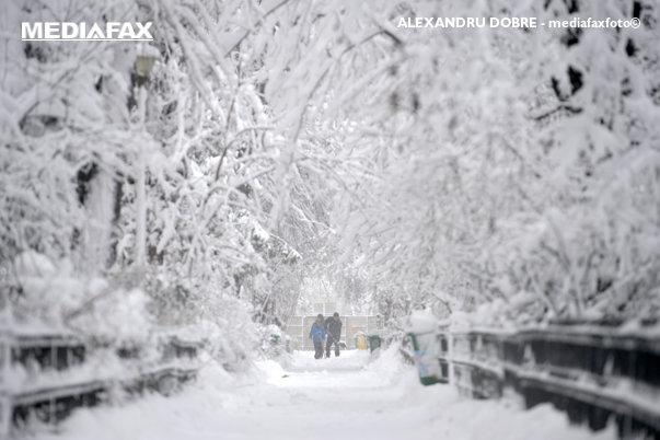 Imaginea articolului ALERTĂ METEO: Cod PORTOCALIU, emis pentru 14 judeţe şi Bucureşti / Dăncilă: Vom avea căderi abundente de zăpadă, aş dori o mobilizare foarte bună