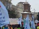 Imaginea articolului Protest în faţa Ministerului de Interne. Mii de poliţişti sunt în stradă/ MAI le transmite de când vor fi plătite orele suplimentare - VIDEO, FOTO