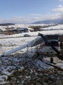 Imaginea articolului Avion de mici dimensiuni, prăbuşit la scurt timp după decolare pe Aerodromul Măgura, Cisnădie | FOTO