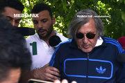 Filmul INTERVENŢIEI Poliţiei în cazul Ilie Năstase. Cum au procedat poliţiştii pentru a-l opri pe fostul tenismen, care plecase de pe loc fără acceptul lor