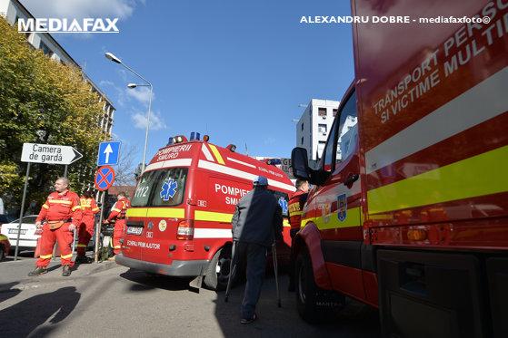 Imaginea articolului Trafic oprit în Bacău, din cauza unui accident soldat cu doi răniţi grav
