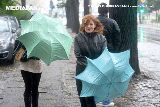 Imaginea articolului AVERTIZARE METEO: cod galben de ploi. Ce judeţe sunt vizate