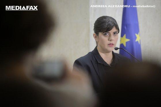 Imaginea articolului Procurorii CSM resping o acţiune disciplinară a Inspecţiei Judiciare împotriva Laurei Codruţa Kovesi