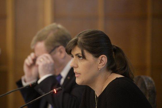 Imaginea articolului Codruţa Kovesi: Codurile penale nu pot trece prin OUG decât dacă este urgent. Nu există urgenţă/ Ce spune şefa DNA despre decizia CCR de revocare a sa din funcţie