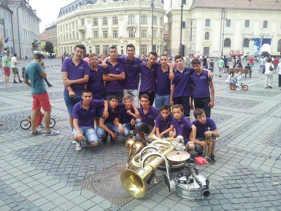Romeo Talmaciu, the creator of the first fanfare for children,
