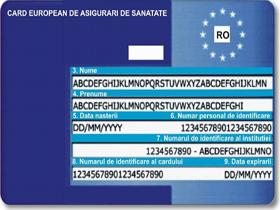 Cardul european de sănătate, gratuit pentru români de la 1 ianuarie 2008