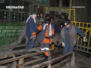 Explozia de la mina Petrila a mai făcut o victimă (Imagine din arhiva Mediafax Foto)