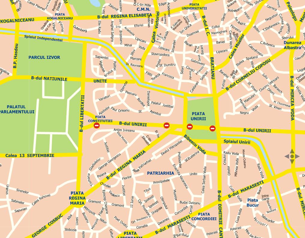 Circulaţia Autovehiculelor Pe Bulevardul Unirii Intreruptă Pană