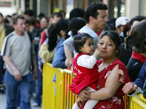 Numărul şomerilor români în Spania a crescut într-o lună cu peste 3.000