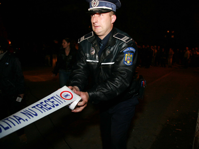 Politia Accident Noaptea Ciprian Sterian