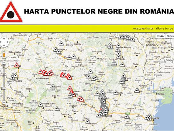 Imaginea articolului HARTA PUNCTELOR NEGRE din România: Care sunt zonele cu cel mai mare risc de accidente rutiere
