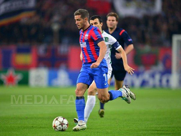 PLAY-OFF-UL LIGII CAMPIONILOR: Steaua Bucuresti - Ludogoret Razgrad, 1-0, �nscrie Chipciu - LIVE SCORE