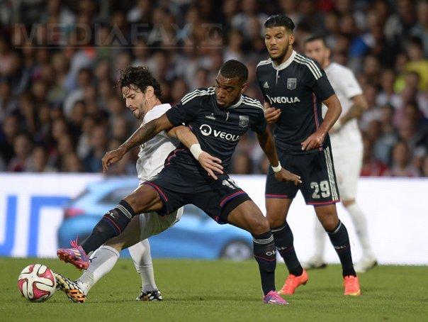 Astra Giurgiu a �nvins Olympique Lyon, scor 2-1, �n prima mansa a play-off-ului Ligii Europa